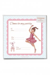 Amelia Party Invitations