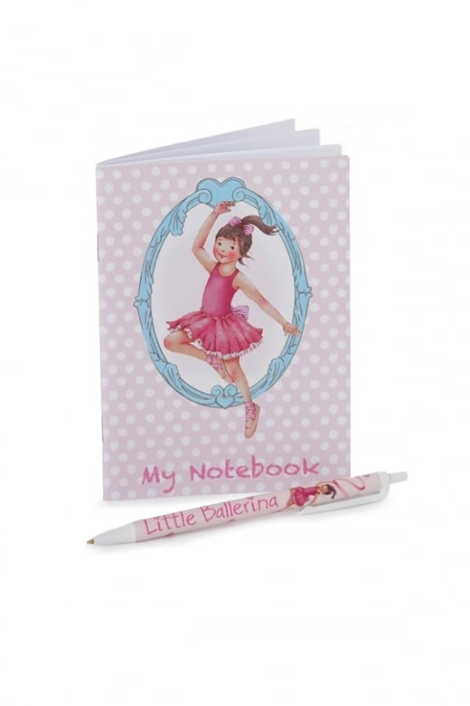 Little Ballerina Ballet Notebook and Pen Set