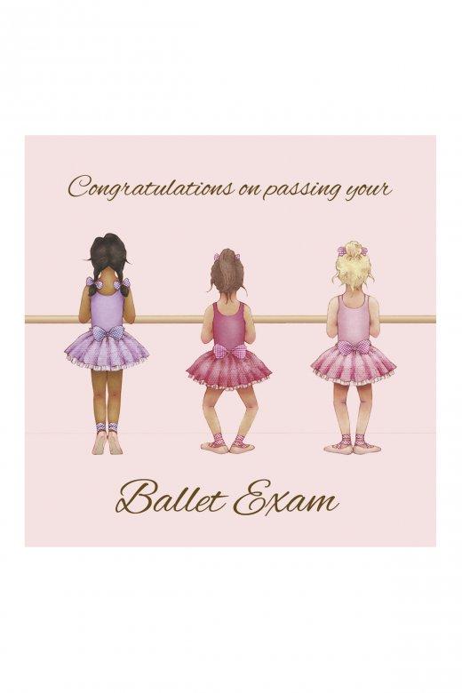 Little Ballerina Congratulations Greetings Card