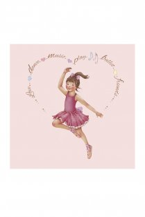 Heart Amelia Greetings Card