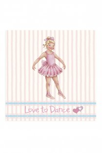 Stripe Melissa Greetings Card