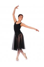 Long Georgette Repertoire skirt