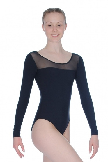 Long Sleeve Ladies Leotard