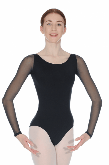 Long Sleeves Ladies Leotard