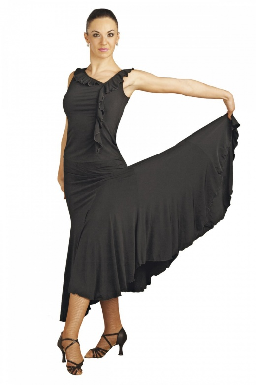 Capezio Long Swirl Skirt