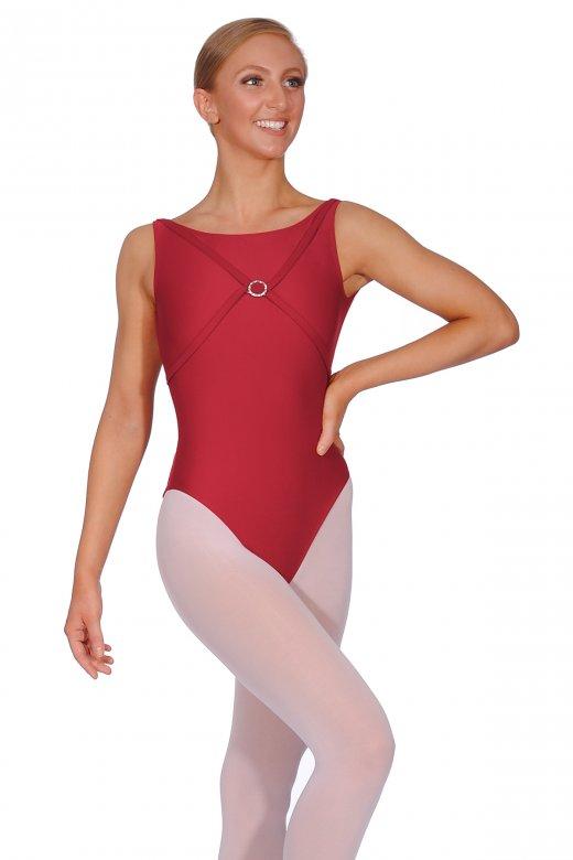 Ballet Rosa Mecca Ladies' Sleeveless Leotard