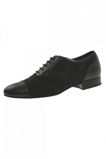 Men's Pinstripe Ballroom Shoes