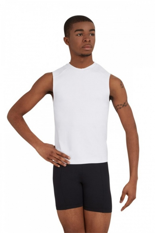 Capezio Men's Straight Waist Fitted Shorts