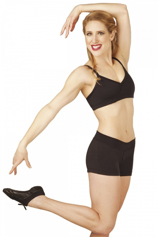 Capezio Micropoly Dance Short
