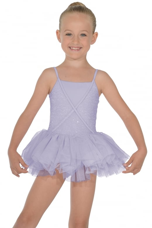 Mirella Mock Wrap Tutu Leotard