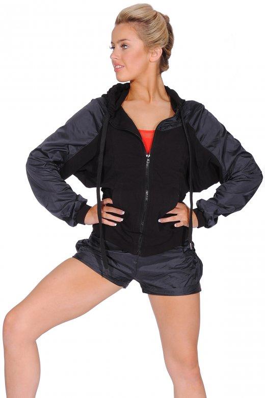 Mirella Women's Hooded Zip-Front Jacket