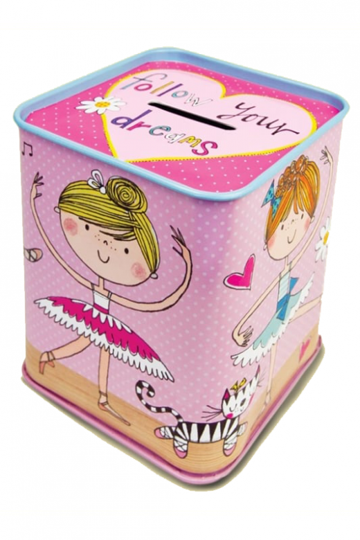 Gifted Dancer Money Box