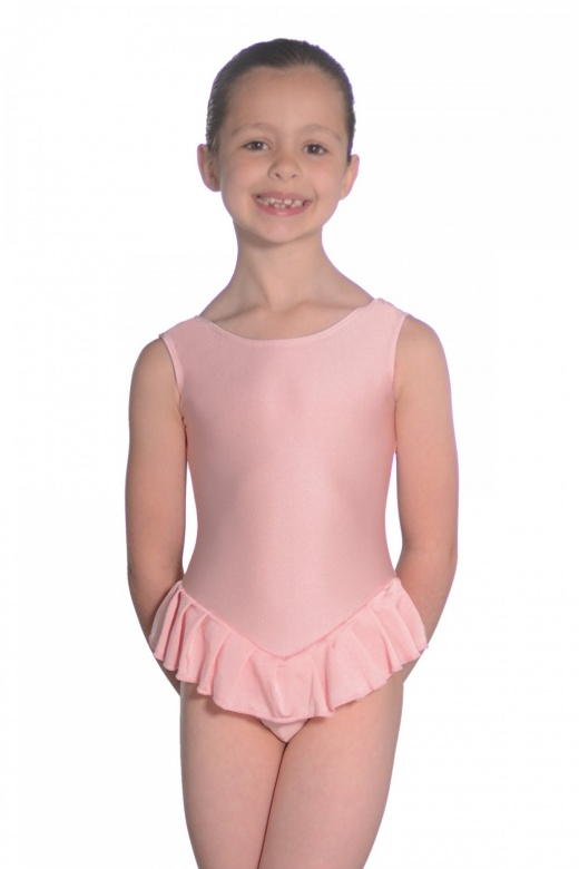 Roch Valley Nylon/Lycra Sleeveless Frilly Leotard