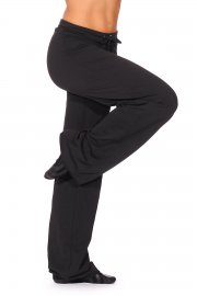 Drawstring Wide Leg Dance Pants