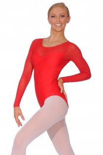 Perle Ladies' Long Sleeve Leotard