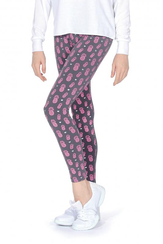 725a5a7804dc Pineapple Girls' Printed Leggings   Dancewear Central