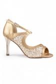 Port Dance Ladies' Glittery Tango Shoes