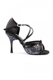 Pro Premium Satin Open Toe Latin Shoes