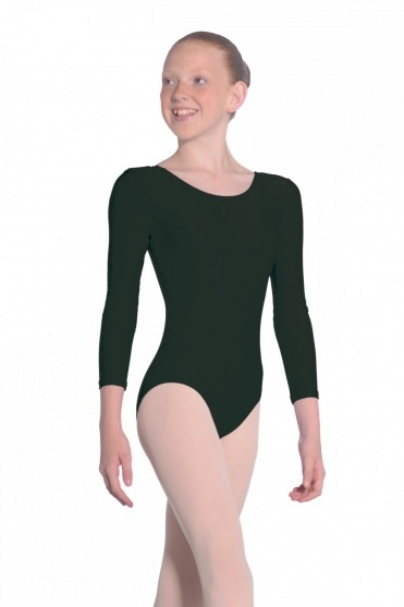 Julie Long Sleeve Nylon/Lycra Leotard