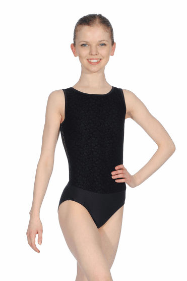 Reglisse Open Back Leotard