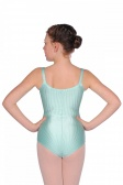 Repetto Girls' Ribbed Lycra Camisole Leotard
