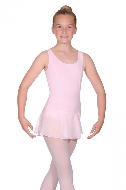 Repetto Girls' Tunic Leotard with Skirt