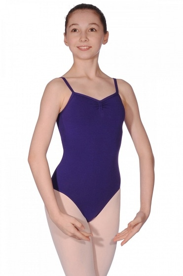 Ava Cotton/Lycra Camisole Leotard