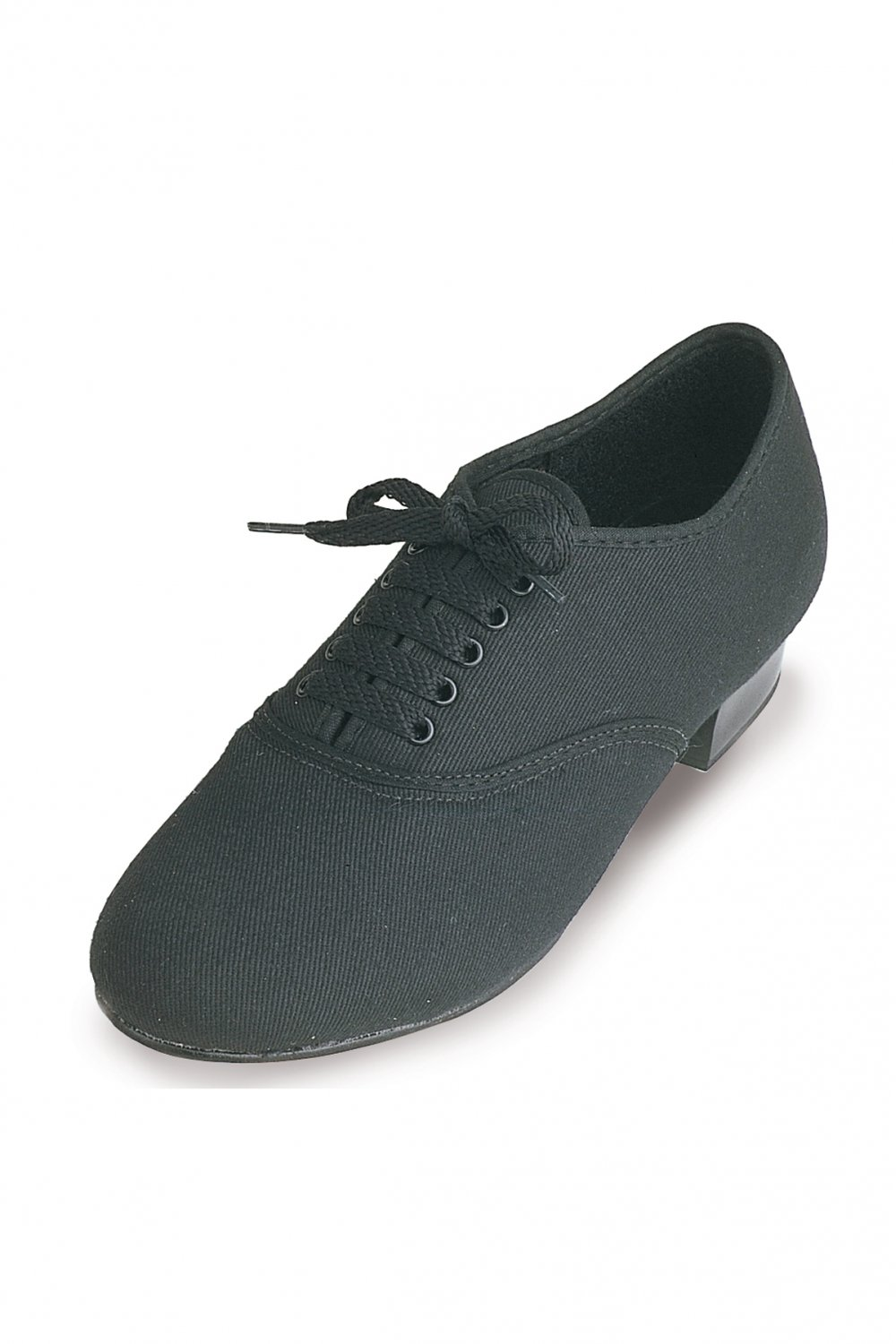 all sizes Mens Boys Black Oxford low heel canvas Tap Shoes