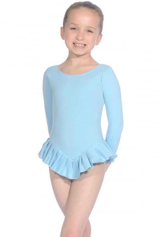 Roch Valley Cotton Long Sleeve Frilly Leotard