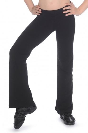 Cotton/Lycra Bootleg Jazz pants