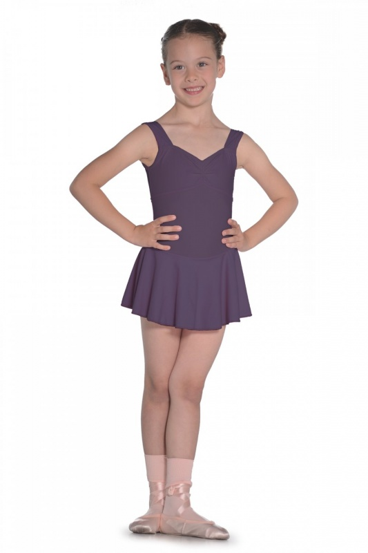 6ce66bc74 Roch Valley Emilie Matte Lycra Skirted Leotard