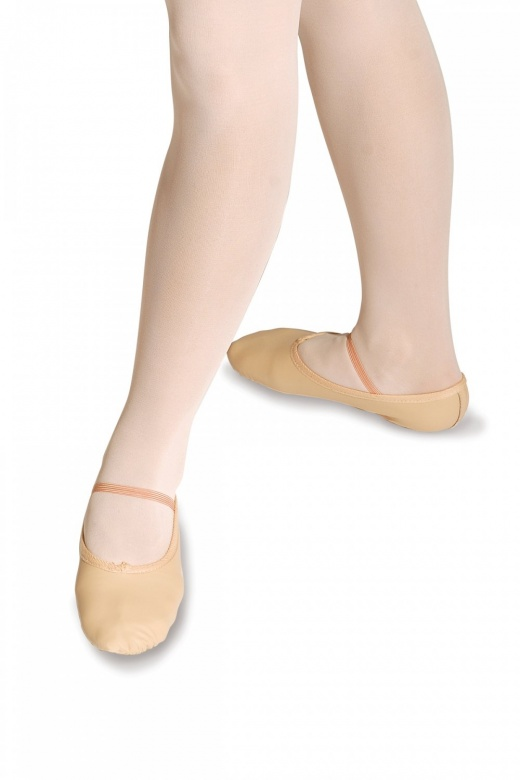 Roch Valley Full Sole Leather Ballet Shoes - Wide Fit