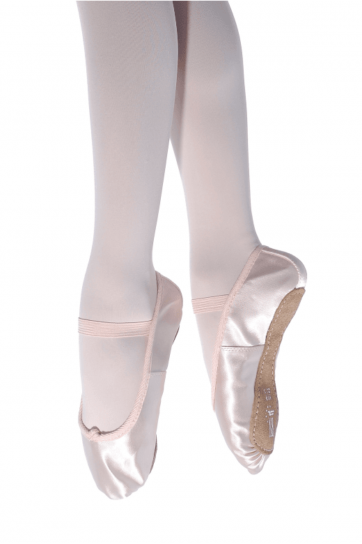 Roch Valley Full Sole Satin Ballet Shoes - Regular Fit