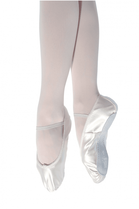 330aa4a94236d Full Sole Satin Ballet Shoes - Regular Fit