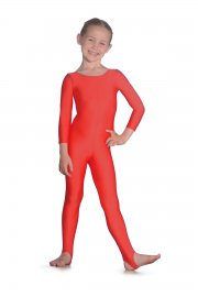 Long Sleeve Nylon/Lycra Catsuit