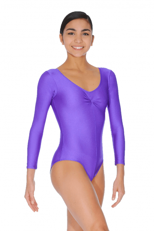 Roch Valley Martene Long Sleeve Nylon/Lycra Leotard