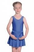 Roch Valley Short Nylon/Lycra Circular Skirt with Basque