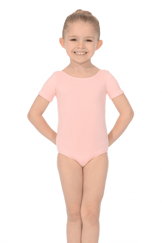 Roch Valley Short Sleeve Cotton Pre-Primary Leotard