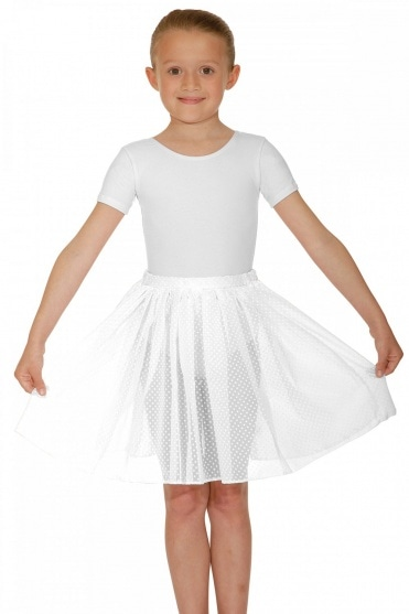 Voile Spotted Skirt