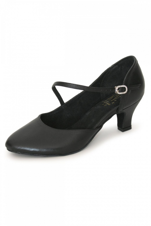 Roch Valley Wide Fit Leather Closed Toe Ballroom Shoes