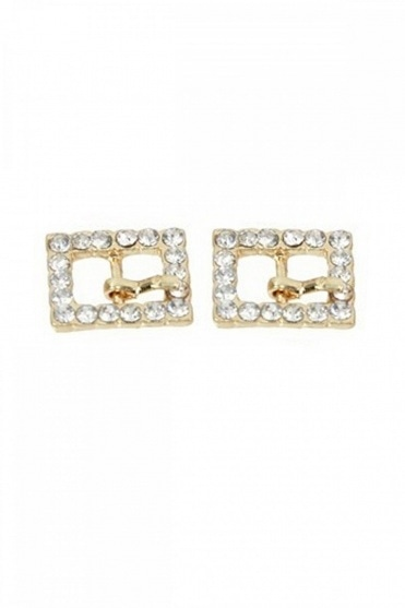 Square Diamante Buckles