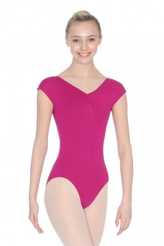RV Roch Valley Nylon//Lycra Ruched ballet dance Leotard SHEREE