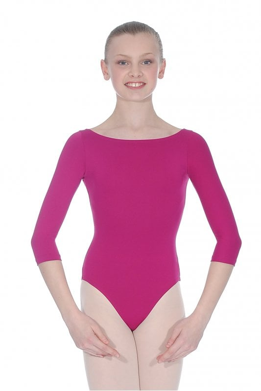 4d7a6cbdba33 RV Plie Boat Neck Leotard