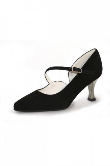 Sarah Ladies' Suede Ballroom Shoes
