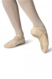Setha Canvas Split Sole Ballet Shoes