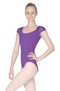 Sheer Streaks Leotard