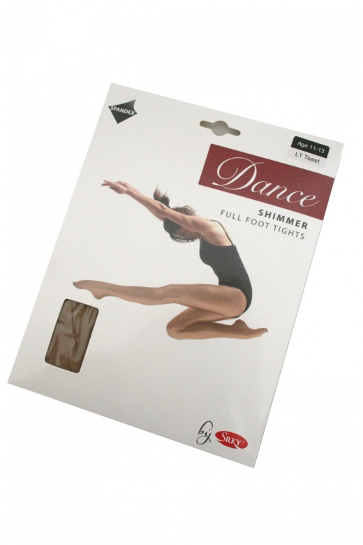Silky Shimmer Footed Dance Tights