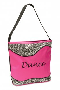 Silver Sizzle Dance Tote Bag