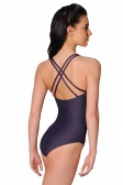 Wear Moi Sirene Camisole Leotard with Cross Back Straps