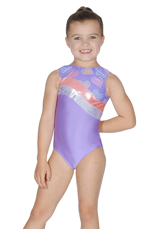 The Zone Roch Valley Girls Plain Leotard Bodysuit Dance Gymnastics Sleeveless
